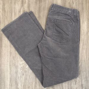 J. Crew Factory Gray Corduroy Pants